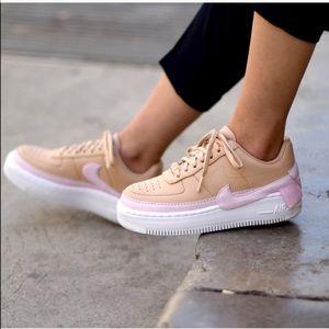 NWT Nike Air Force 1 Jester XX Beige Pink White  W
